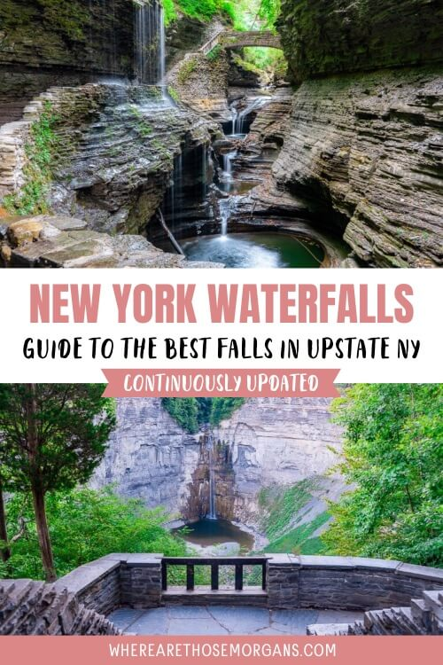 New York Waterfalls guide to the best falls in upstate NY
