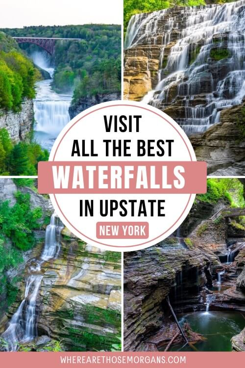 Visit all the best waterfalls in Upstate New York