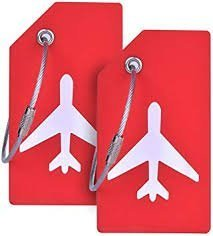 Bright Silicone Luggage Tags for travelers who regularly use airports