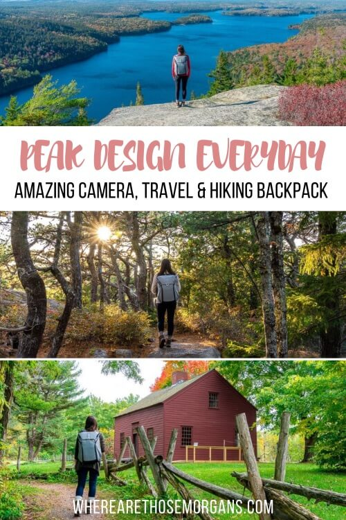 Peak Design Amazing Camera Travel and Hiking All in One Backpack Solution