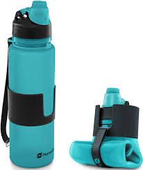 Nomader collapsable travel water bottle perfect gift for travelers who hike